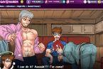 Karikature gay spiel mit schwanz saugen
