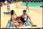 Schoner langer strand mit heisen bikini damen blinkt