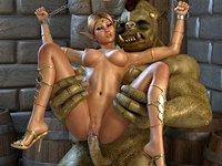 3D elf porno fantasien