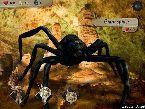 Eine grose spinne und andere mythologische monster kampfen