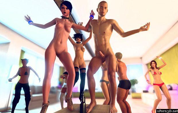 Porno Cartoons erotische Spiele