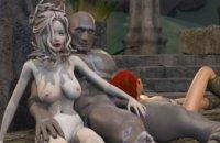 MMORPG Sex in der ganzen Welt ähnlich wie Skyrim