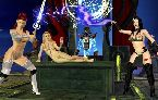 Mittelalterlichen fantasie welt von geilen nackten frauen