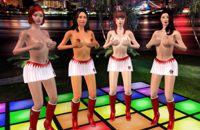 Privat Strip Show und sexy nackte Lapdance