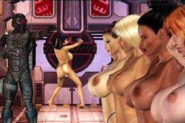 Erotische Aktion Porno Spiele mit Sex Schießen