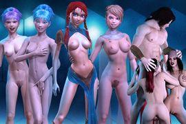 Virtuelle Spiele Porno mit virtuellen sexy Mädchen